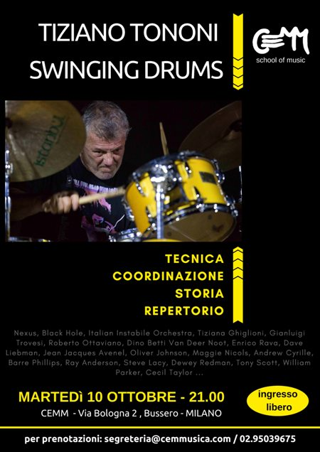 "tiziano-tononi ""Swinging Drums"""