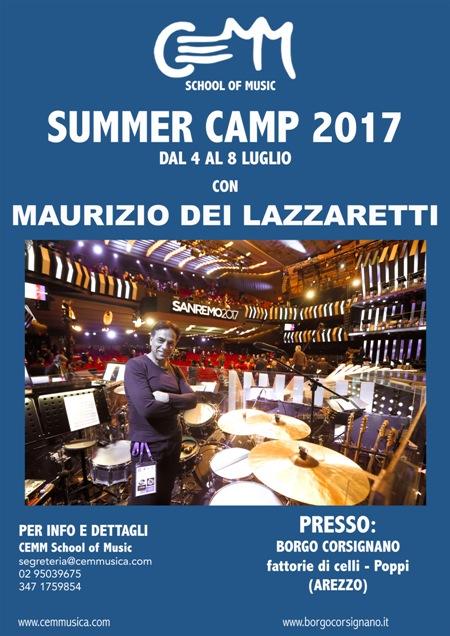 Cemm Summer Camp 2017 con Maurizio Dei Lazzaretti