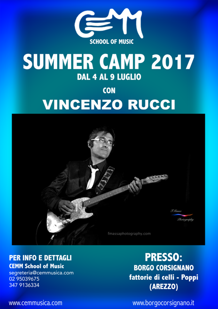 CEMM SUMMER CAMP 2017 CON VINCENZO RUCCI