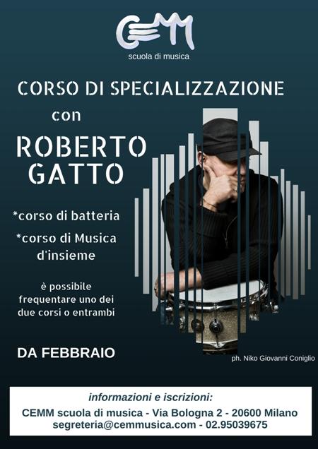 corso-di-specializzazione-di batteria-jazz-a-milano-con -Roberto-Gatto