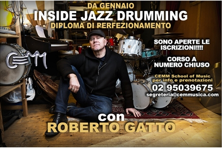 INSIDE JAZZ DRUMMING CON ROBERTO GATTO