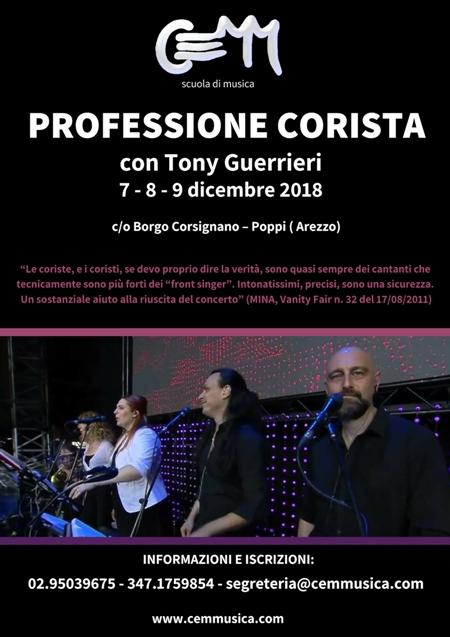 PROFESSIONE CORISTA-con Tony Guerrieri