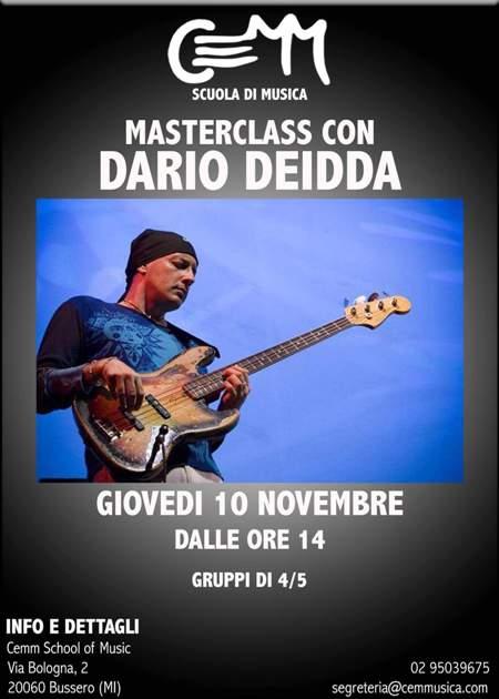 Masterclass Dario Deidda