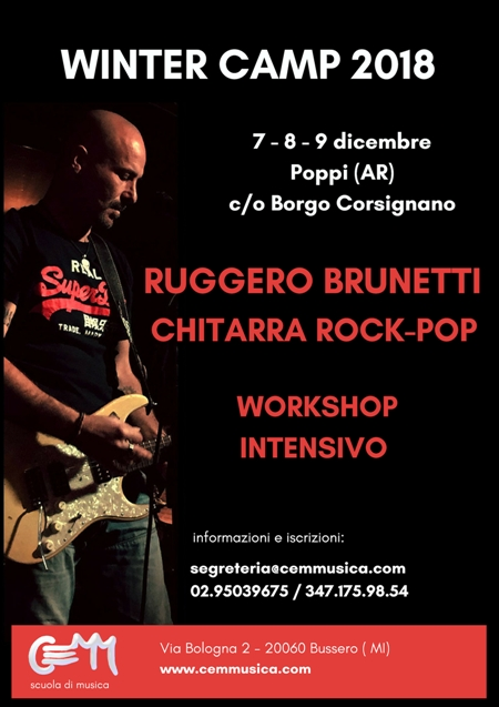 Ruggero Brunetti - Winter Camp 2018