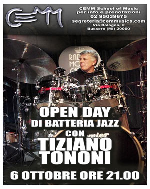 open-day-di-batteria-jazz-con-tiziano-tononi